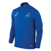 DCU Business Studies 1/4 Zip Midlayer - Royal Blue/White